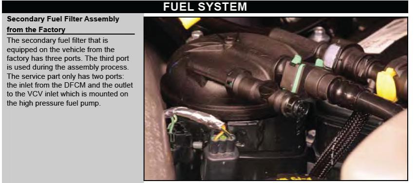 fuel filters - ford powerstroke diesel forum