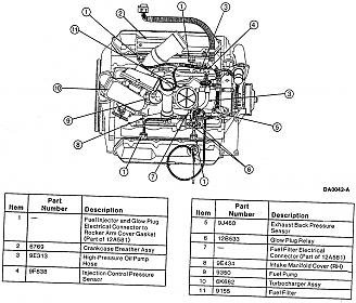 7 3l engine diagram 2002 f250 7 3l wiring diagram pin-out diagram for 97 cali? - ford powerstroke diesel forum