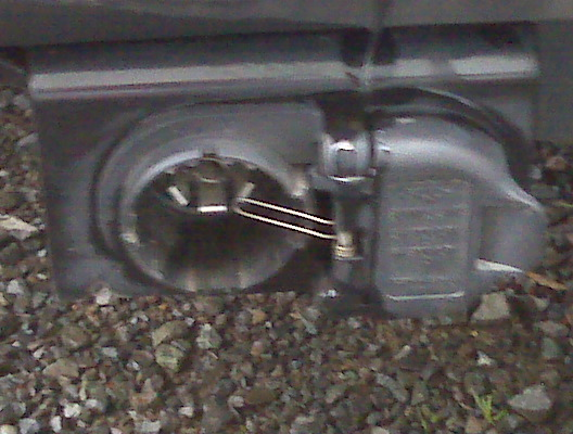 7 Pin Trailer Connector >> 7 pin trailer plug cover replacement - Ford Powerstroke ...