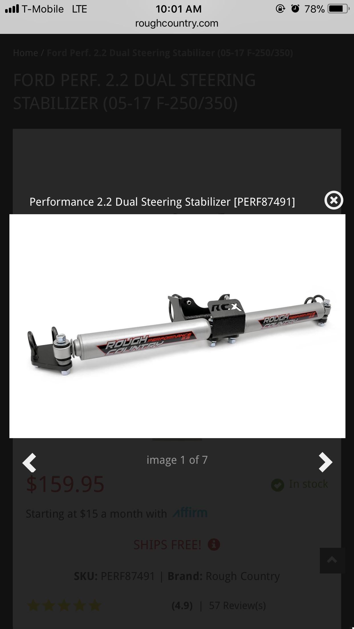 Steering Stabilizer(s) Question - Ford Powerstroke Diesel Forum