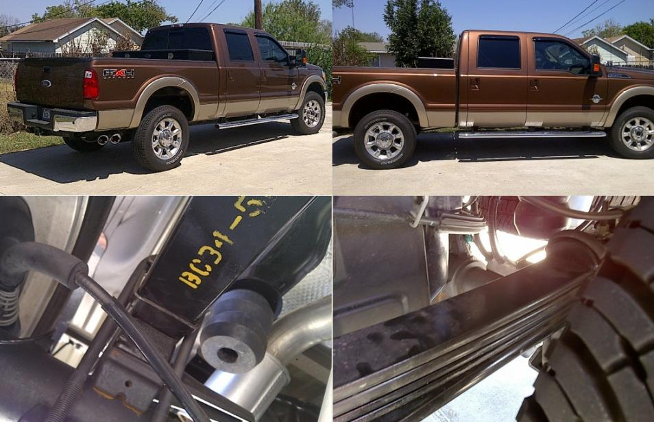 2016 Ford F250 >> My 2011 new F250 with Add-A-Leaf & Timbren! Pics! - Ford ...