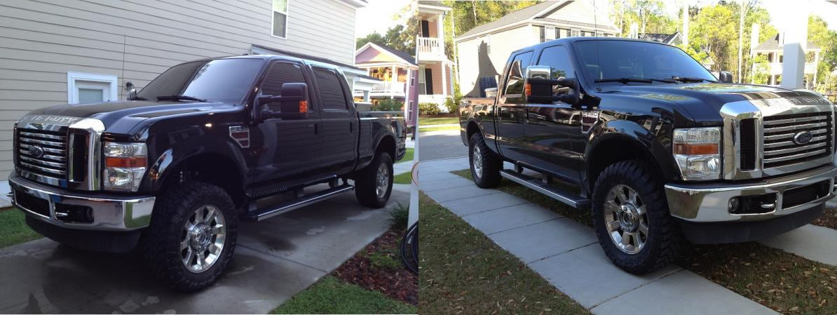 """F150 Leveling Kit Before And After >> Before and After Pics Icon Stage 1 Leveling Kit 2.5"""" - Ford Powerstroke Diesel Forum"""
