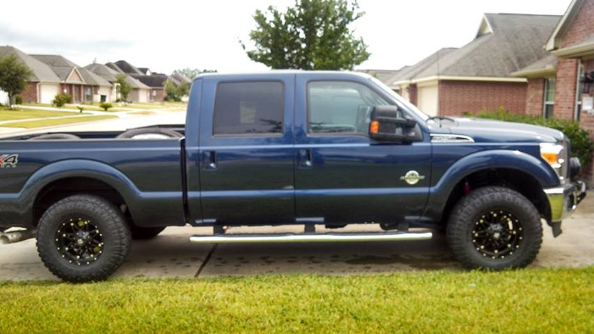 Pics photos 2012 2013 ford f250 leveled ford f250 4 inch readylift