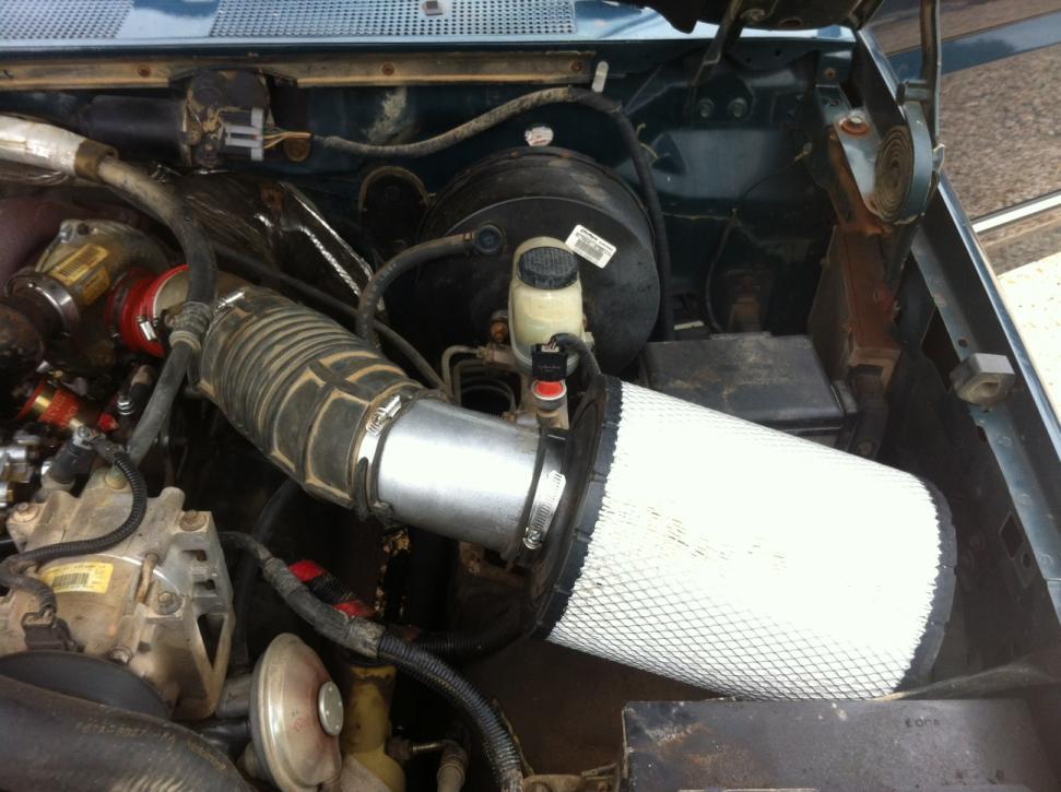 6637 Diy Intake Filter Install Change Page 3 Ford
