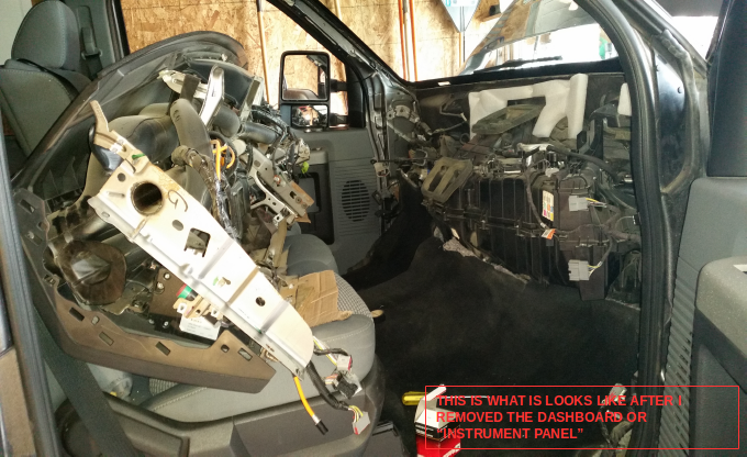 Powerstroke 6.7 Engine >> Blower Control Module (Blower Resistor) Replacement DIY - 2013 F350 XLT XTR - Ford Powerstroke ...