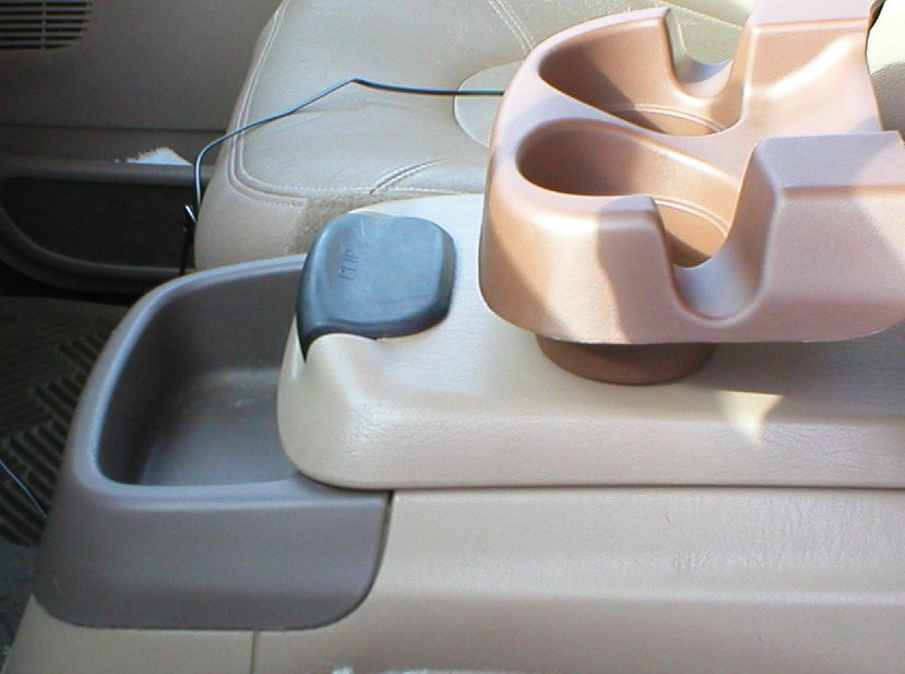 Center Console Cup Holder Swap Ford Powerstroke Diesel Forum