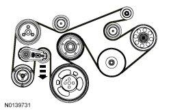 early 2011 f 350 serpentine belt ford powerstroke diesel. Black Bedroom Furniture Sets. Home Design Ideas
