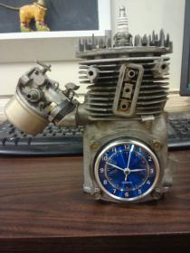 My tractor tire ottoman-block-clock.jpg