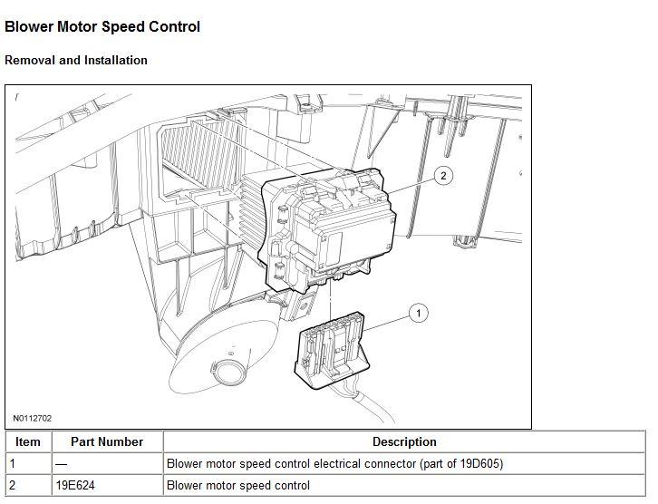 Blower Control Module (Blower Resistor) Replacement DIY