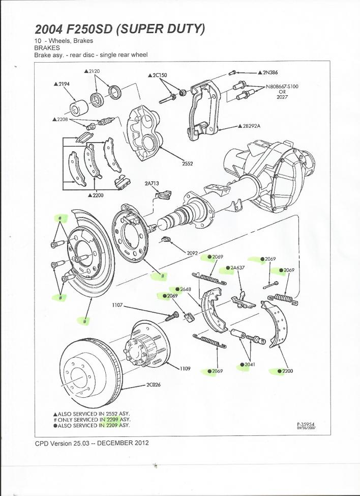 ford factory parts 2017