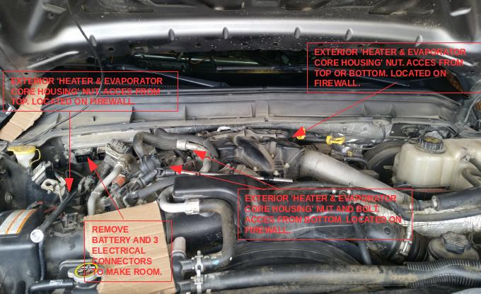 D Blower Control Module Blower Resistor Replacement Diy F Xlt Xtr C Engine Bay on Ford 6 0 Diesel Engine Control Module Location