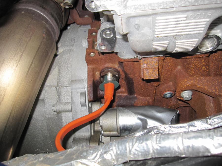 2011 Engine Block Heater Install Ford Powerstroke Diesel