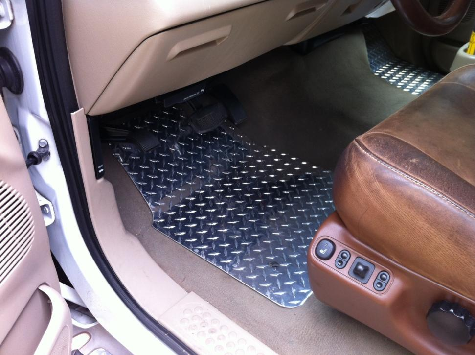 Bored Today Aluminum Diamond Plate Floor Mats Ford