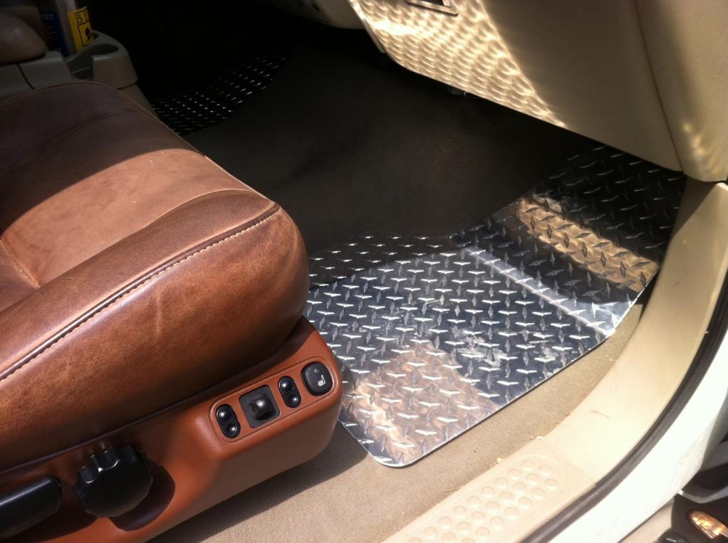Bored Today - Aluminum Diamond Plate Floor Mats-diamond-passenger.jpg