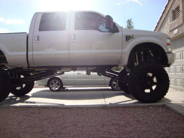 lift inch pmf powerstroke done ford diesel forum