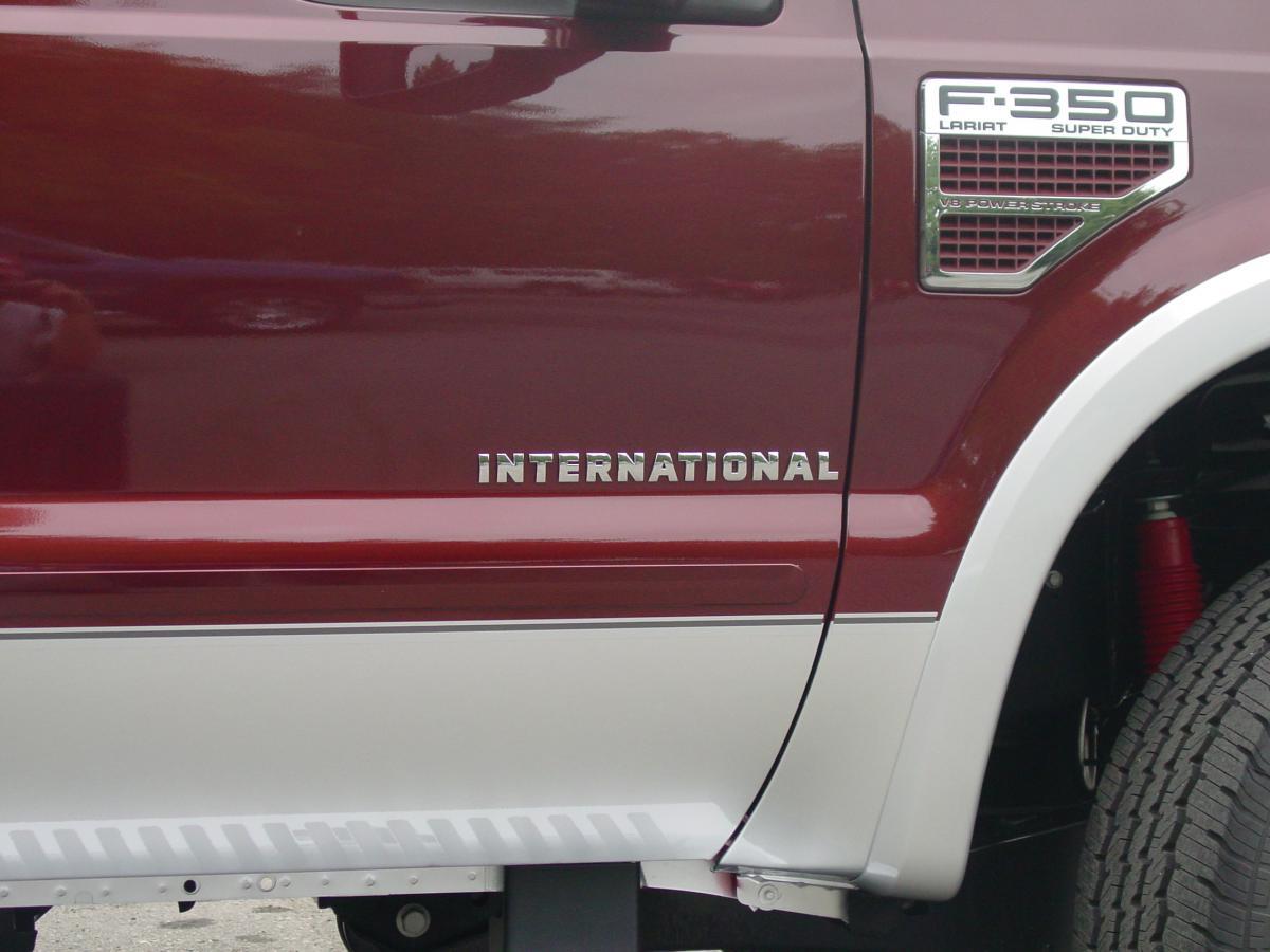 International International Powerstroke Logo
