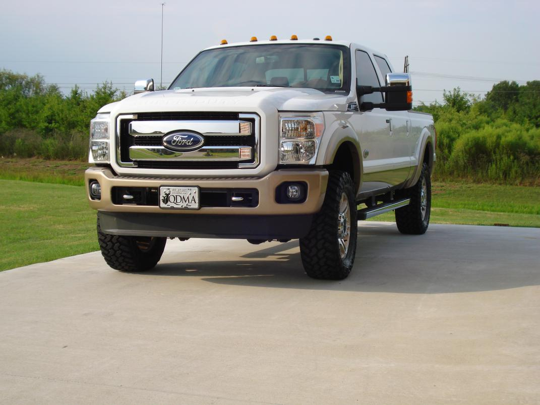 11 king ranch leveled 35 trail grapplers review ford powerstroke diesel forum