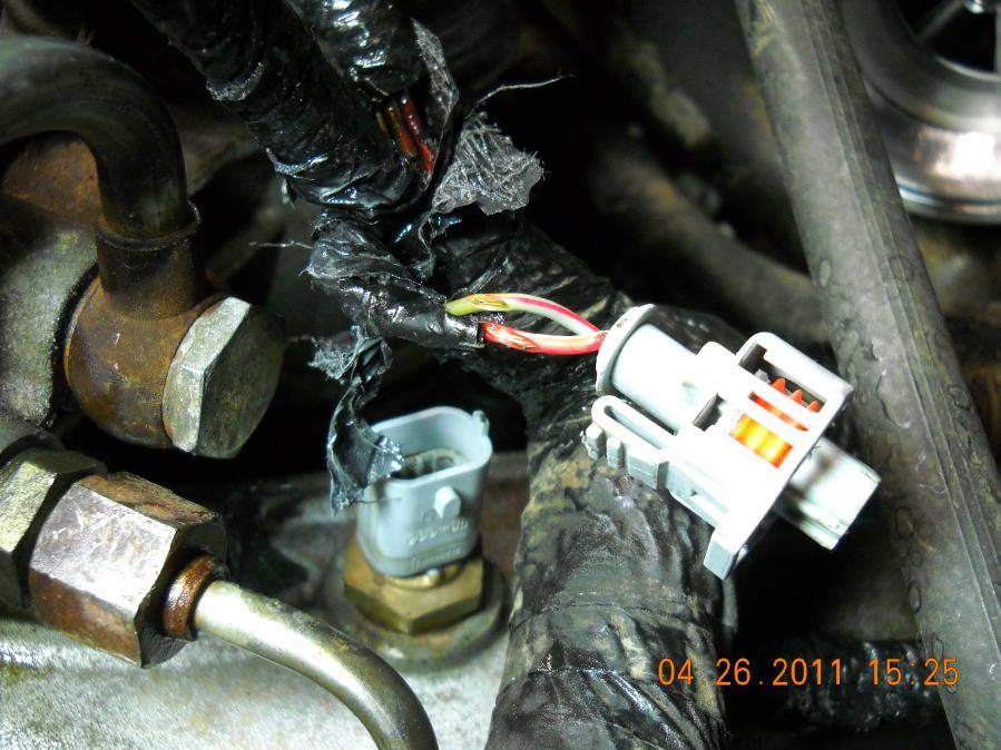 6.0 Powerstroke Crank No Start >> Help 6 0 No Start Chaffed Wiring Pict Ford Powerstroke