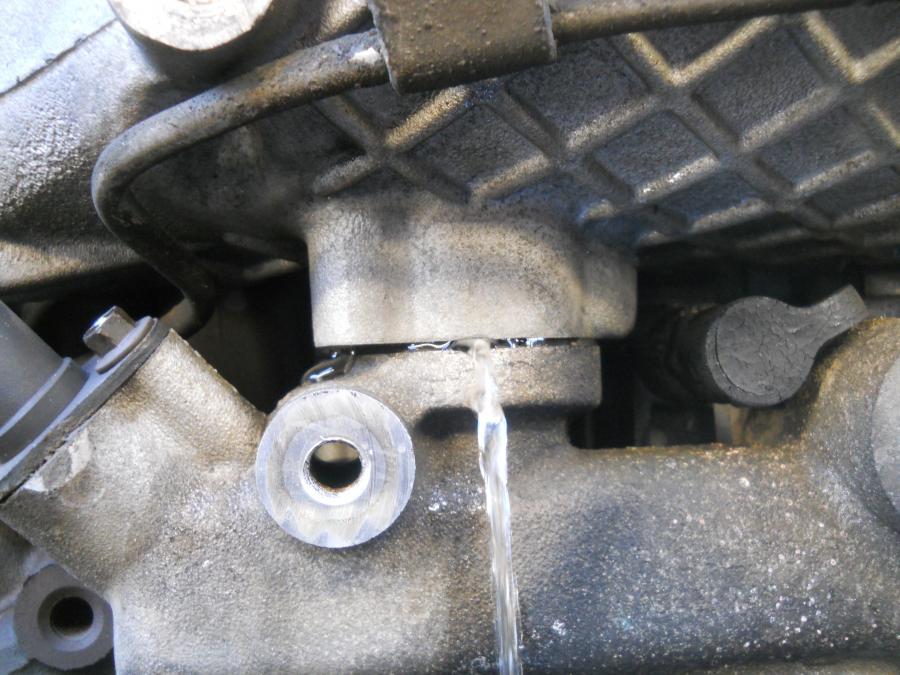 Intake Manifold Leak Behind Idler Ford Powerstroke