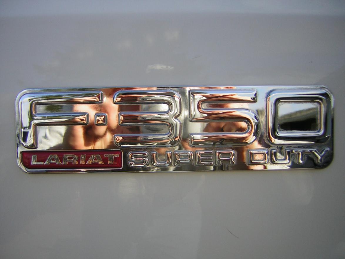 F250 Billet Badges Chrome F250 Badges-dscn1311