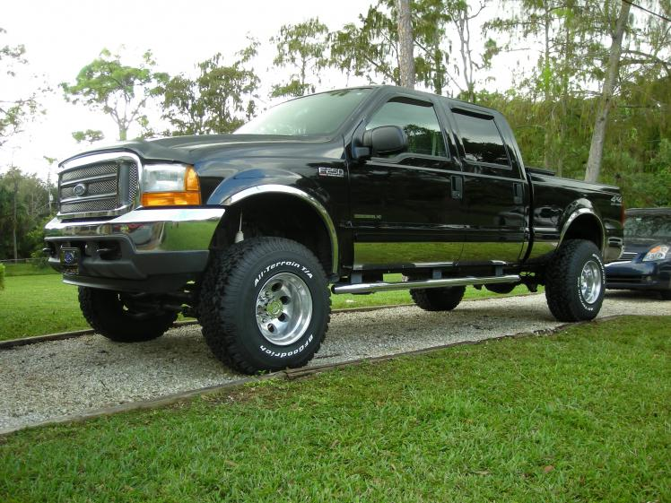 Question F 250 2001 4inch Lift With 35s Or 6 Inch Lift