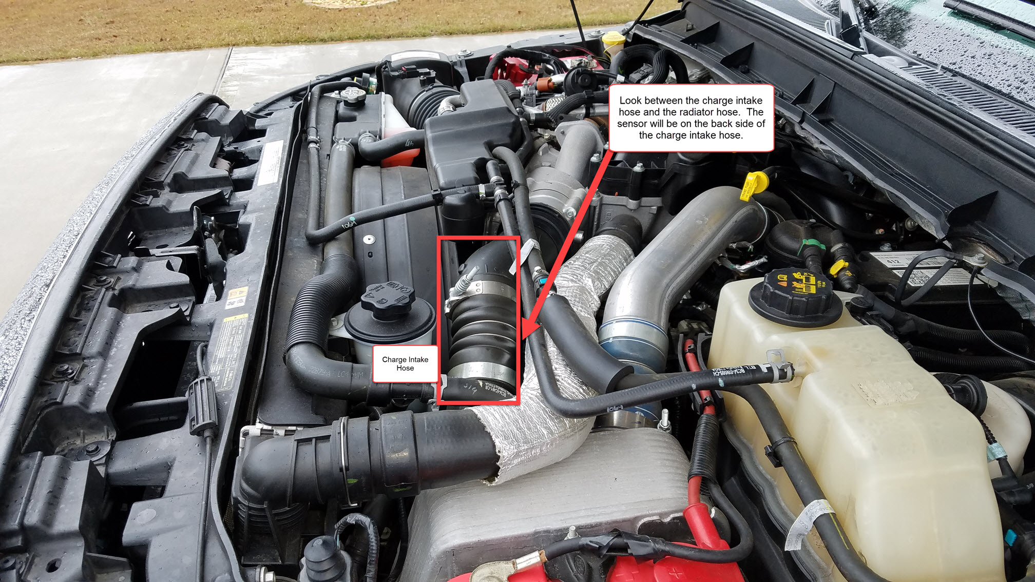 D No Limit Ez Lynk Tyrant Tuning Install Review Engine Bay High Picture on Ford 5 4 Engine Parts Diagram