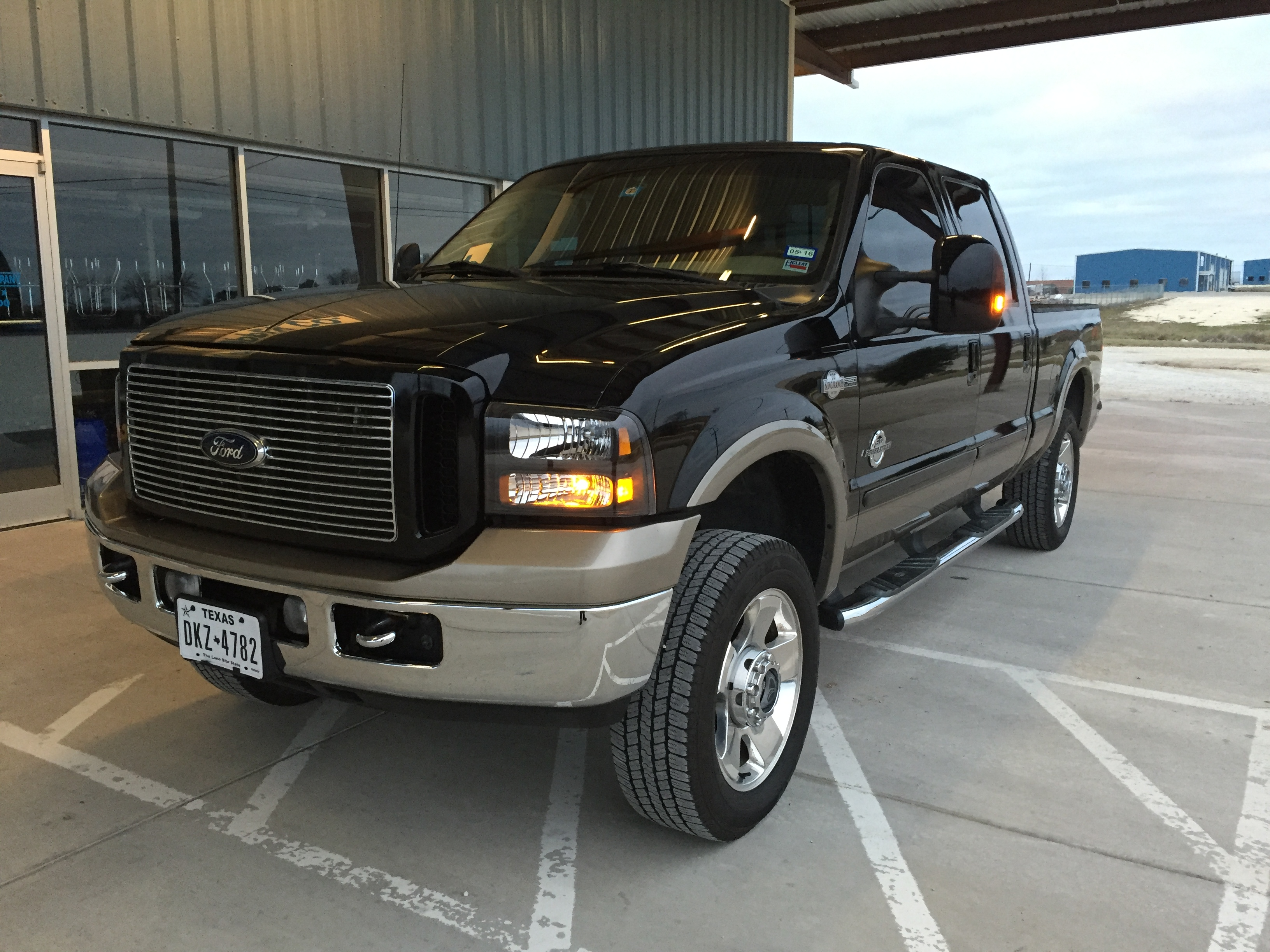 F250 King Ranch >> IPR external oil cooler review - Ford Powerstroke Diesel Forum