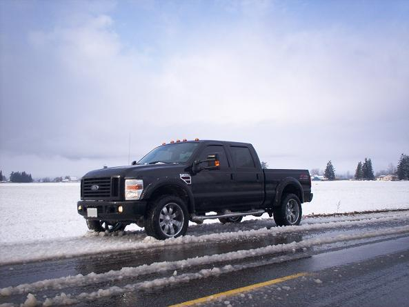All Black FX-4 with flares....pics inside!-f350-6.jpg