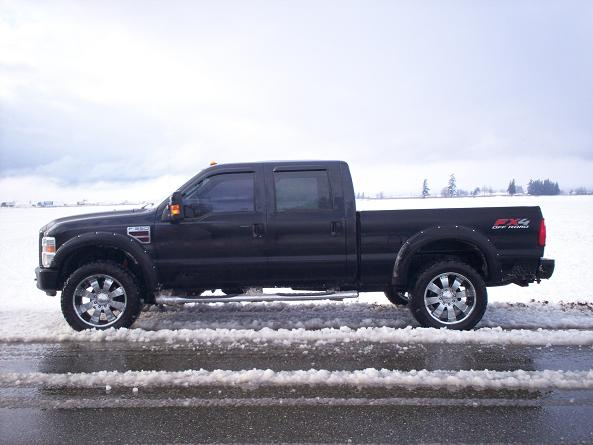 All Black FX-4 with flares....pics inside!-f350-9.jpg
