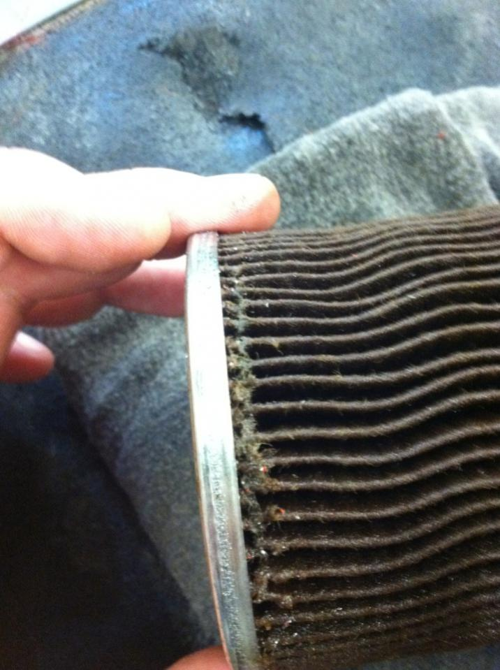 What I found in my coolant filter...-filter4.jpg