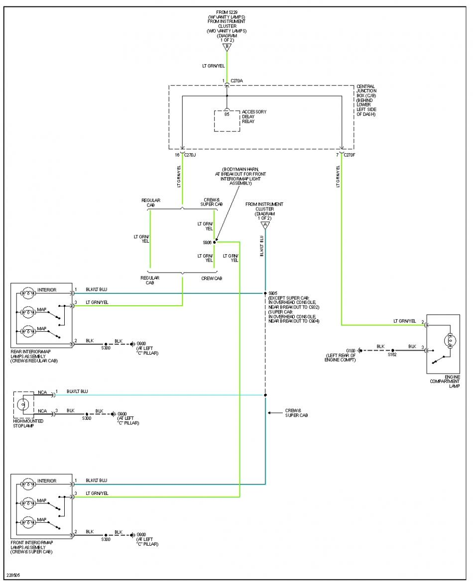 No Map Lights Ford Powerstroke Diesel Forum 1994 F 250 Dome Light Wiring Diagram F350 2006 Courtesy Lamps 2