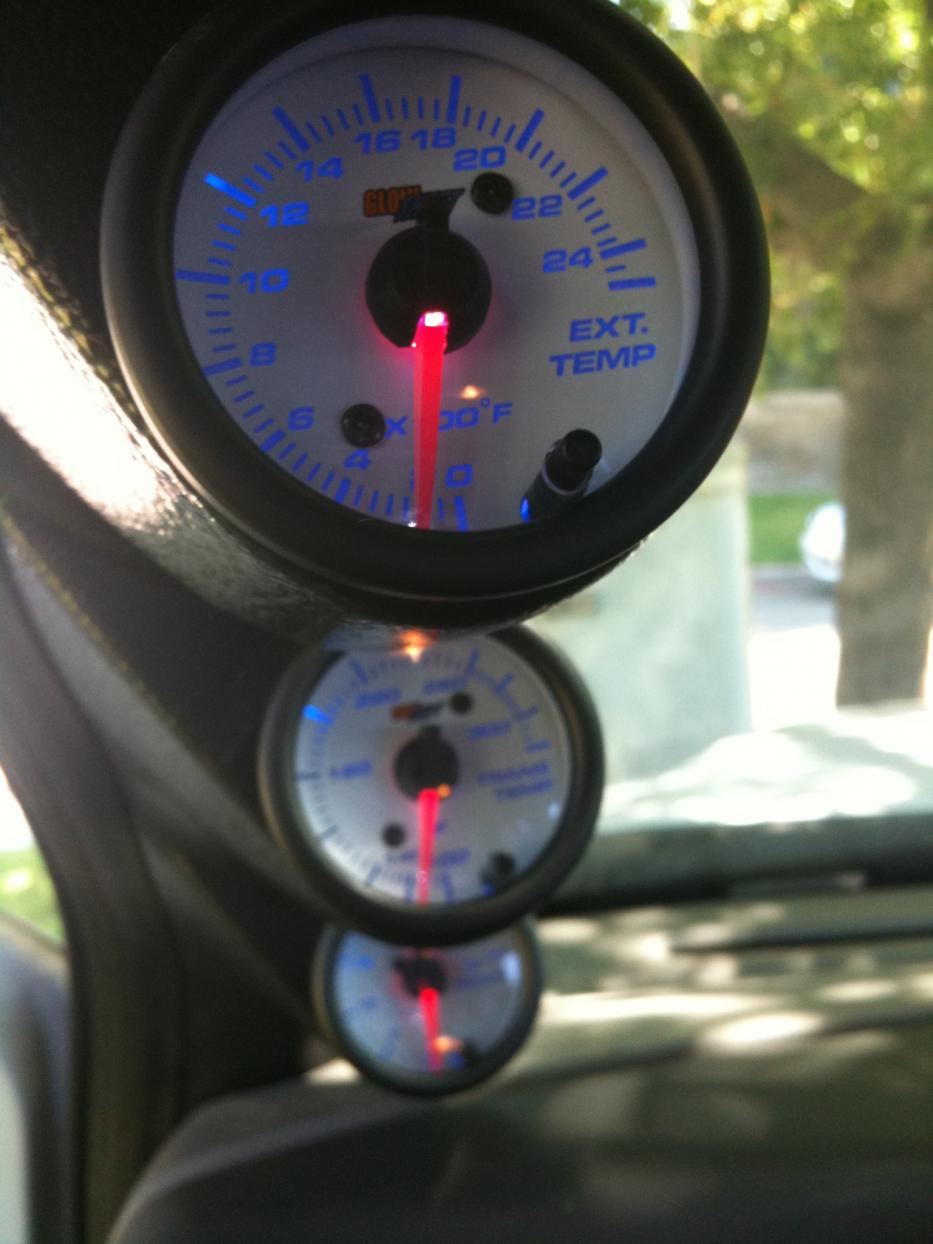 Pillar Gauges Ford Powerstroke Diesel Forum