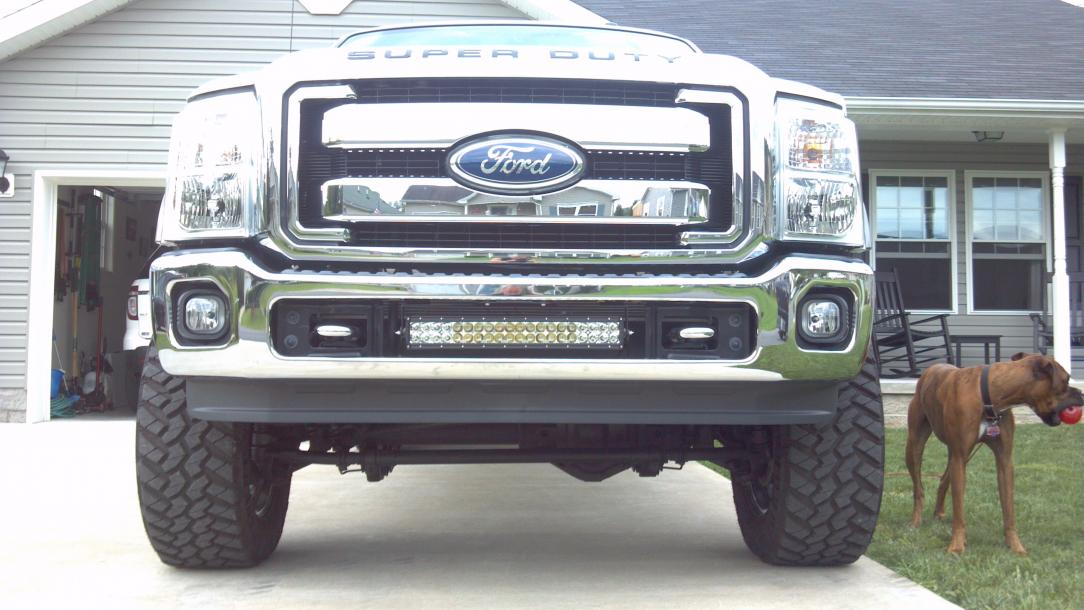 Updated pics - F350-front-end.jpg