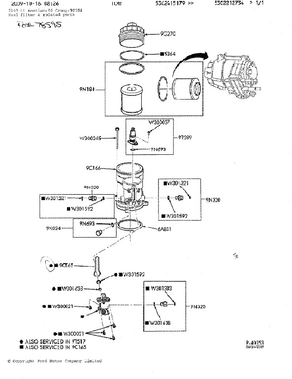 Ford 73 Fuel Filter Location