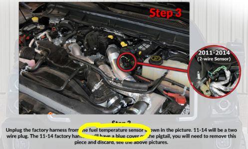 6.7 Powerstroke Problems >> P0181 Fuel Temp Sensor - Ford Powerstroke Diesel Forum