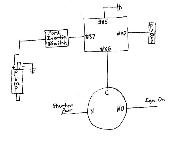 Precision Fuel Pumps Wiring Diagram