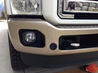 block heater bumper plug upgrade ford powerstroke diesel forum