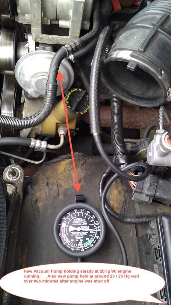 Hard ke Peddle - Even after new Vacuum Pump - Ford Powerstroke ...