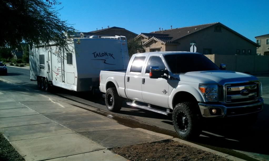 Air Bags For Trucks >> Towing w/ a lifted truck - Page 2 - Ford Powerstroke ...