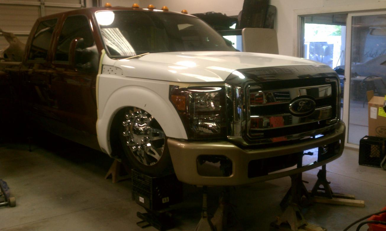 2012 Front End Conversion Page 3 Ford Powerstroke