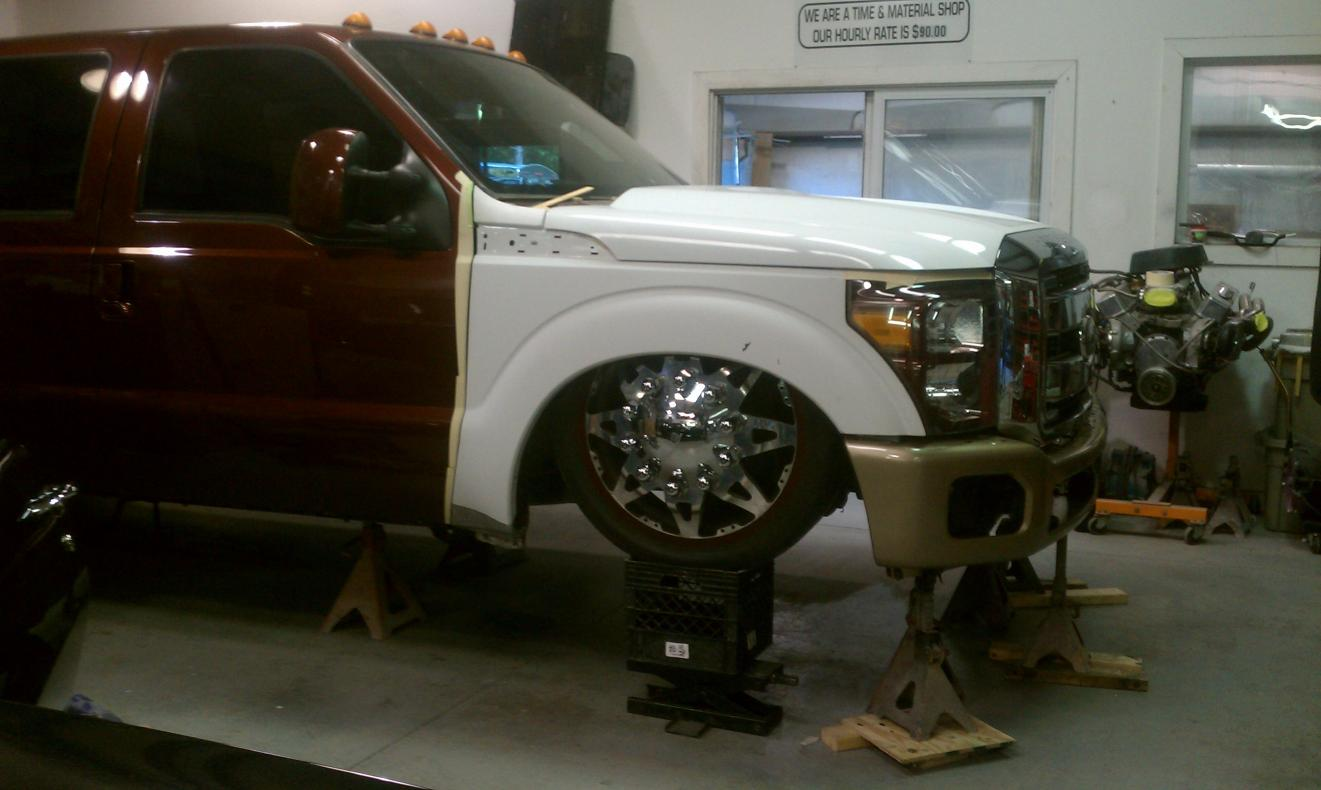 2012 front end conversion - Page 3 - Ford Powerstroke ...