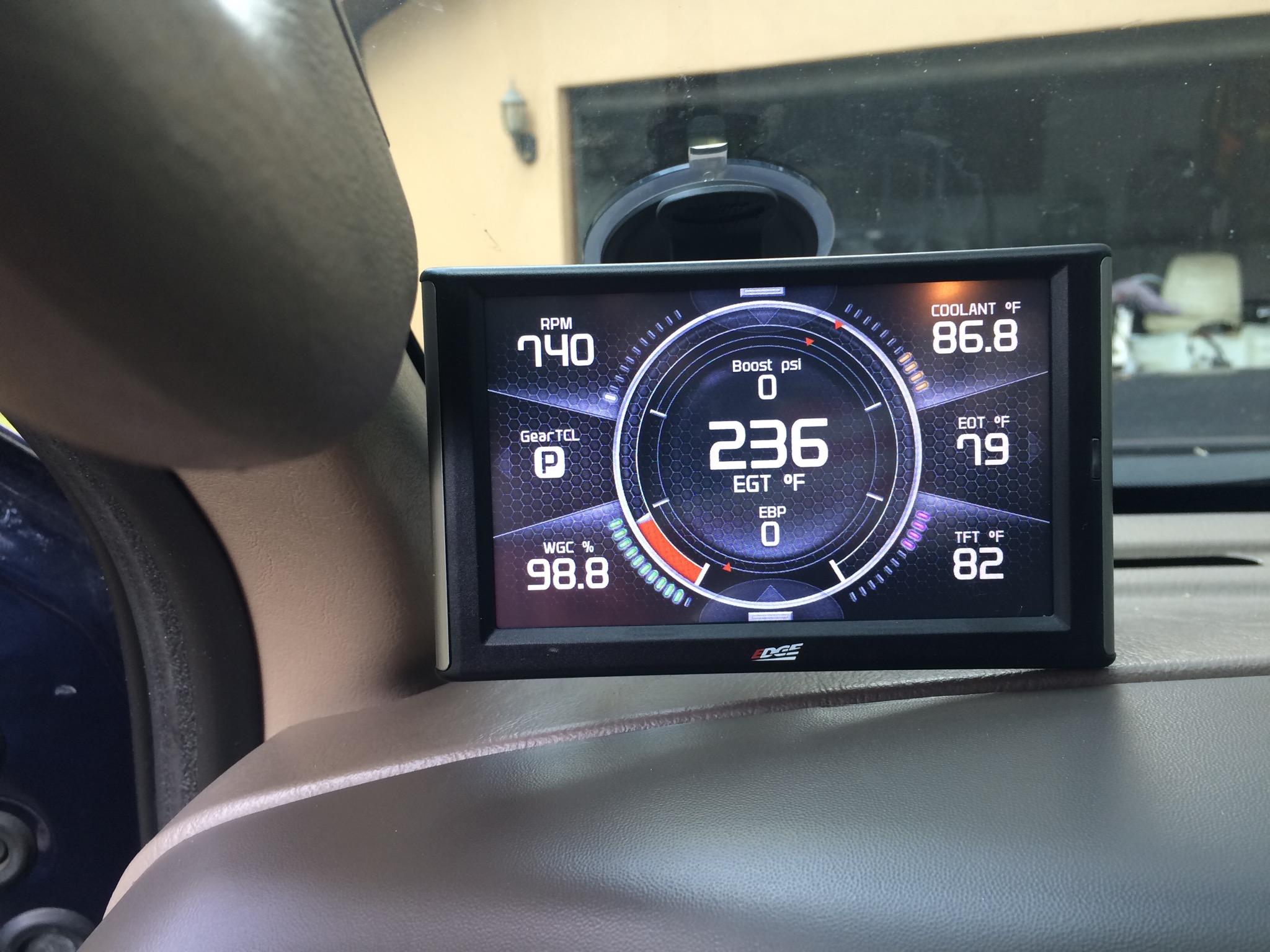 03 7 3 & Edge gauges Page 2 Ford Powerstroke Diesel Forum