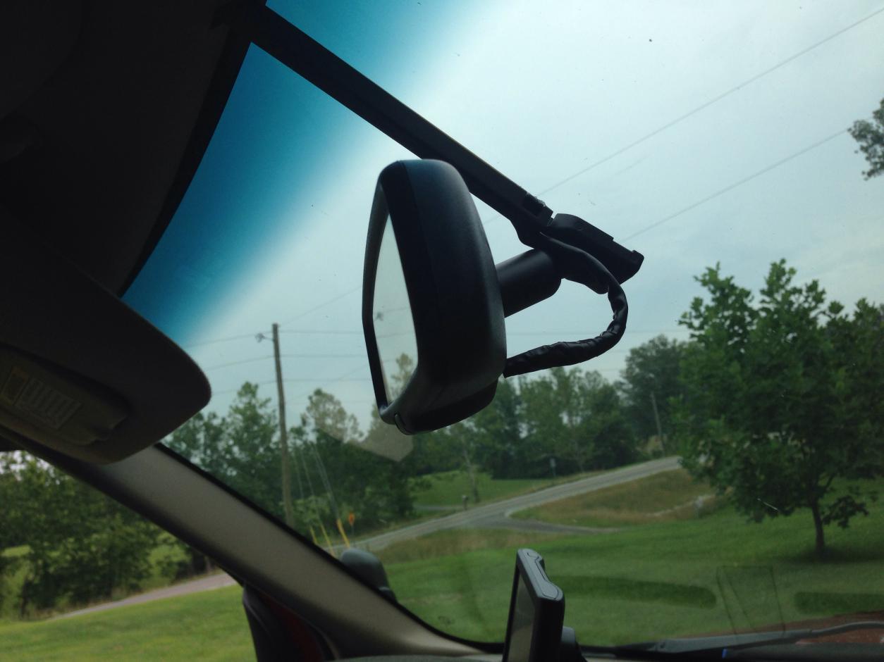 Auto Dim Rear View Mirror Leaking Black Goo Not Working