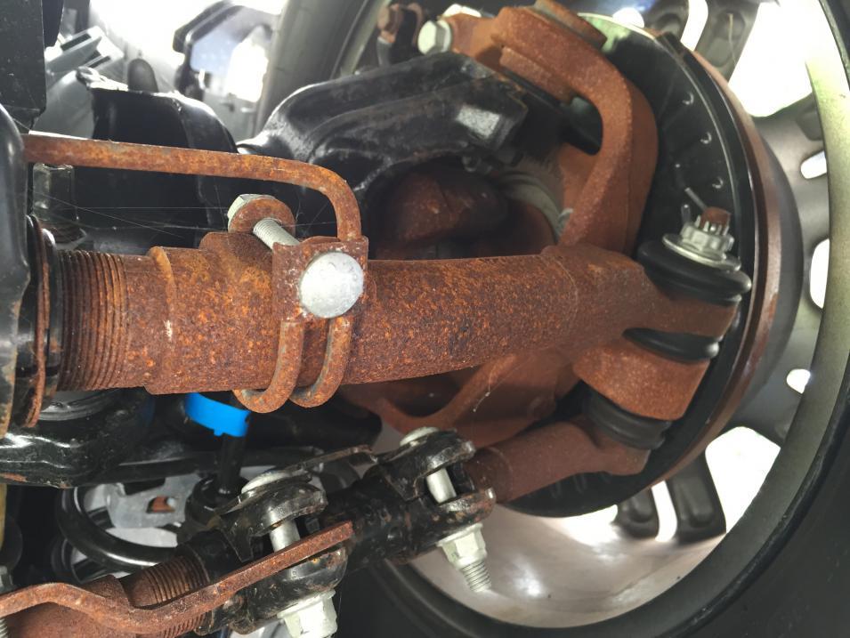 truck  undercarriage rust ford powerstroke diesel forum