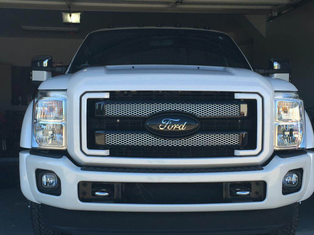 2016 F250 Platinum >> Superduty Grill paint - Page 2 - Ford Powerstroke Diesel Forum