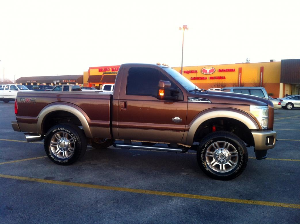 cab regular trucks ford short truck pickup diesel box powerstroke bed f350 king ranch project chevy 4x4 lifted 3dtuning def