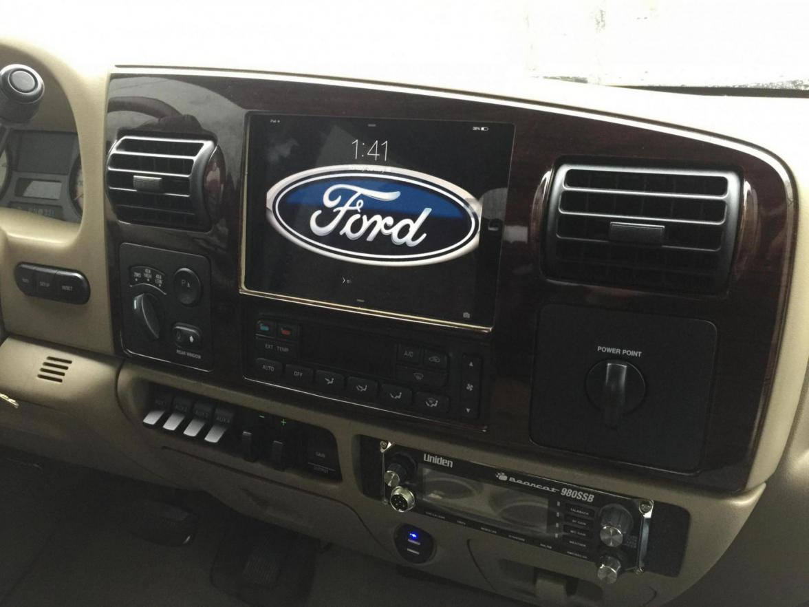 Ipad Mini Install Ford Powerstroke Diesel Forum
