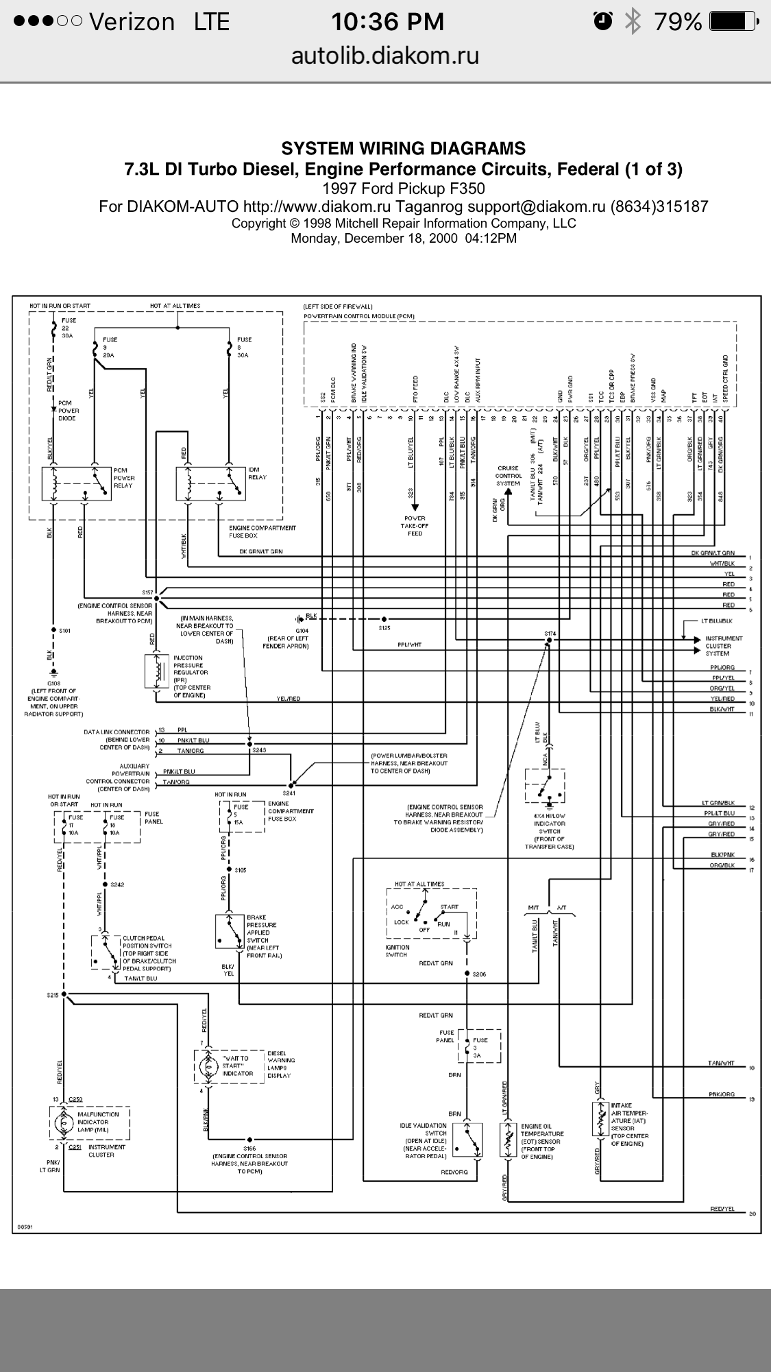 2001 Ford F550 Wiring Diagram 73l Wiring Schematic Printable Very