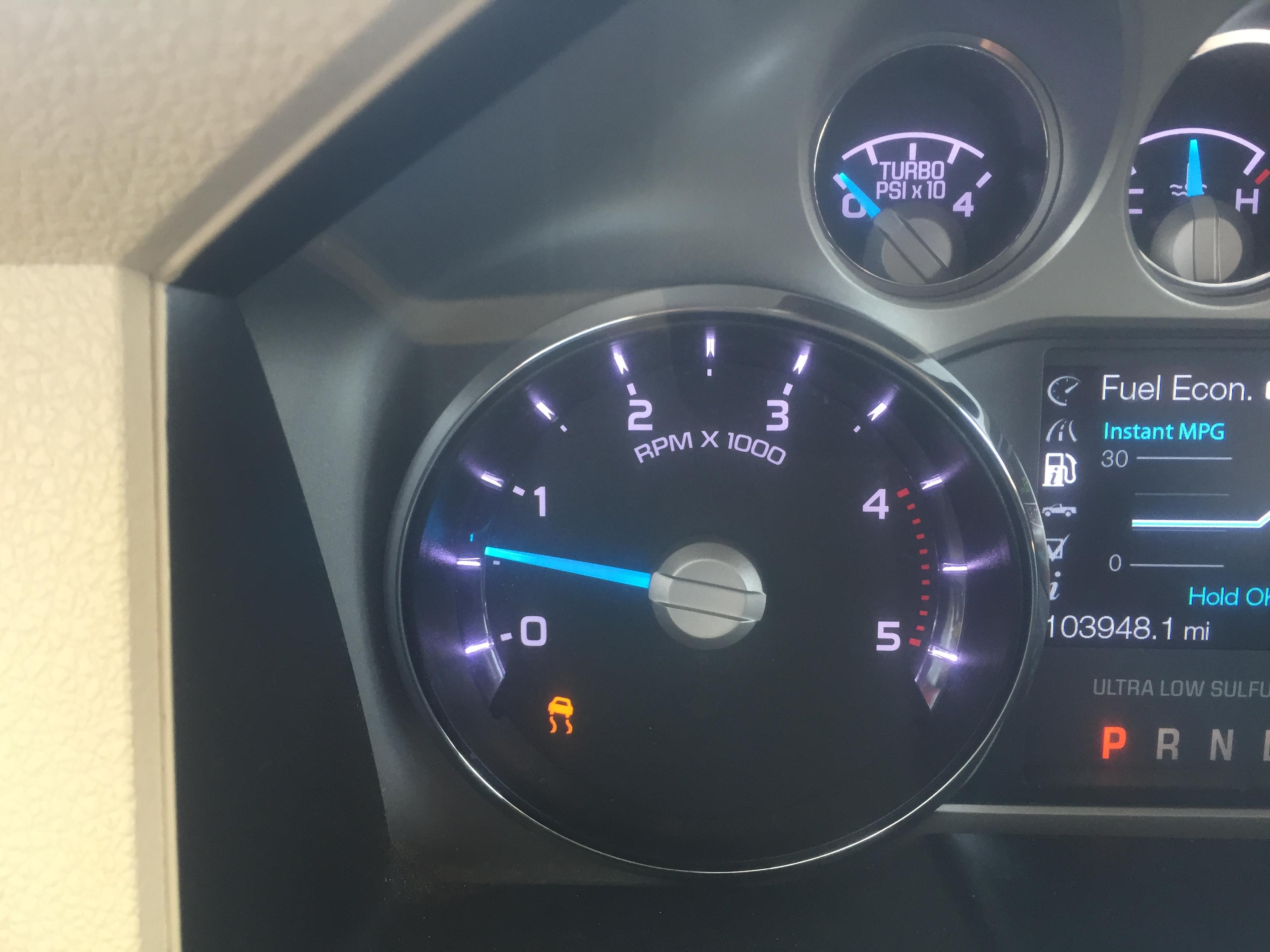 6.7 Powerstroke Problems >> Traction control light? - Ford Powerstroke Diesel Forum