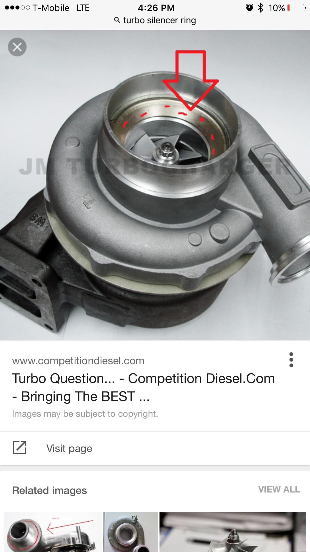 Turbo Spooling Noise - Page 2 - Ford Powerstroke Diesel Forum